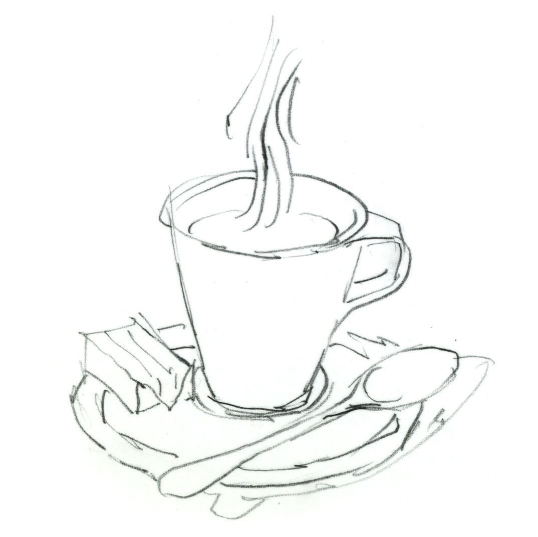 Großartig Cartoon Kaffeetasse Malvorlagen Fotos ...