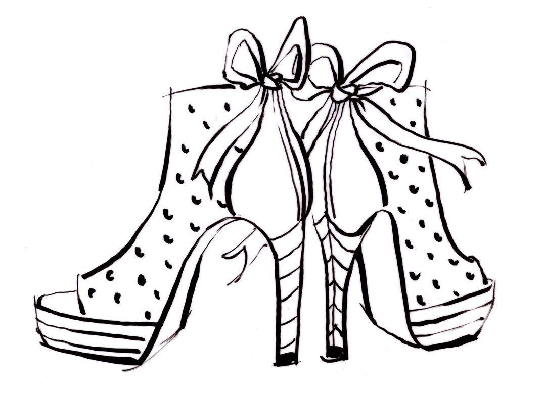 malvorlage high heels  coloring and malvorlagan