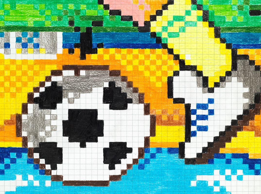 Soccer pixel-it