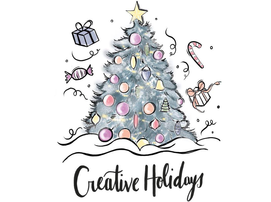 Malen Sie Ihre eigenen Weihnachtskarten aus