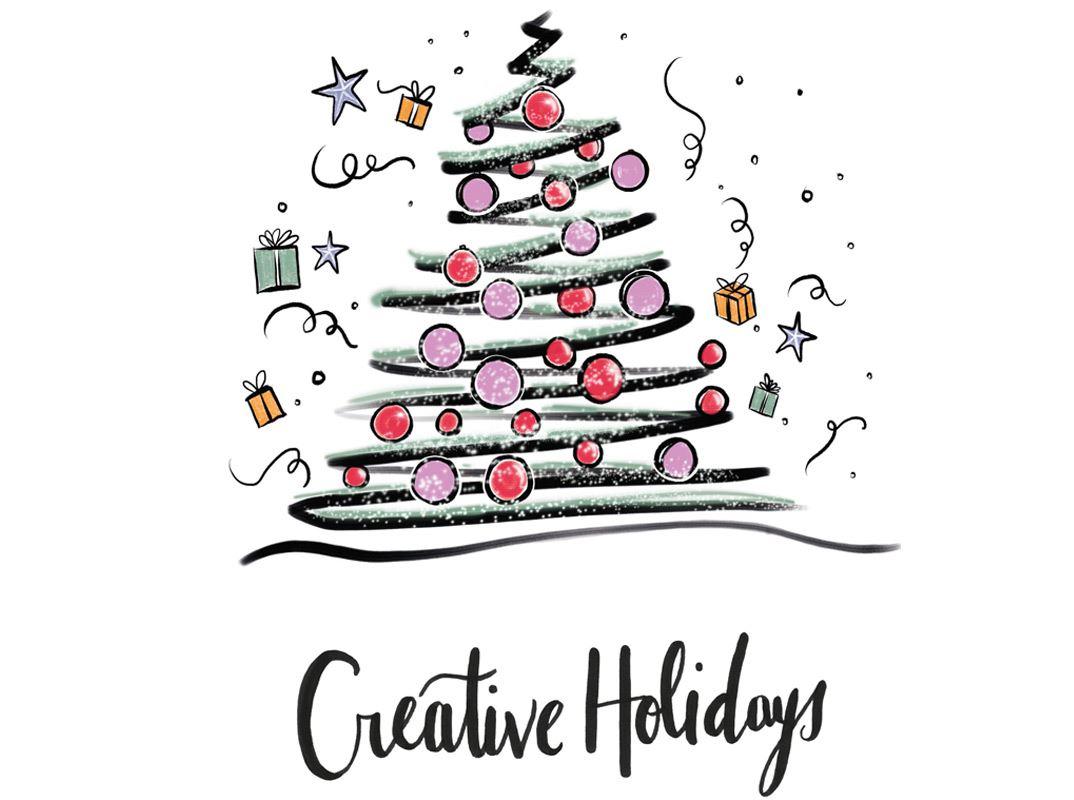 Weihnachtskarten Mit Kugelschreiber.Malen Sie Ihre Eigenen Weihnachtskarten Aus