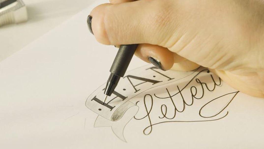 Faber-Castell Tuschestift Pitt Artist Pen Hand-Lettering Set 8er Etui