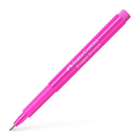 Faber-Castell - Faserschreiber Broadpen Document pink