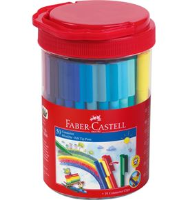 Faber-Castell - Connector Filzstift- Set Box, 60-teilig