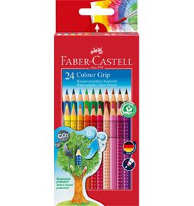 Faber-Castell - Buntstift Colour Grip 24er Kartonetui