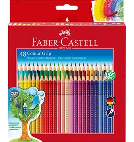 Faber-Castell - Buntstift Colour Grip 48er Kartonetui