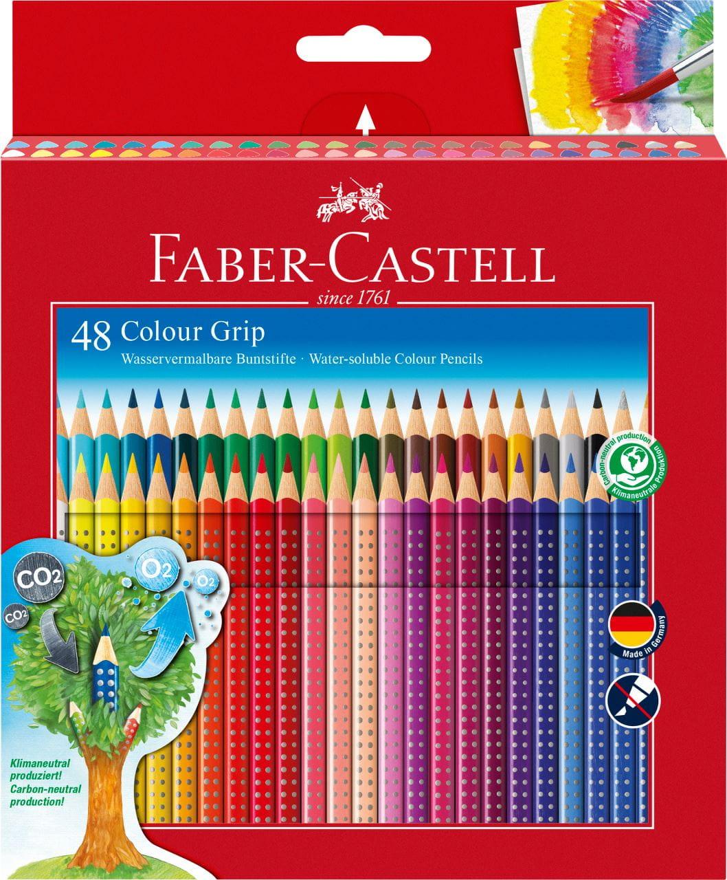 12 Faber-Castell Buntstifte Malstifte Colour Pencils bruchsicher Neu