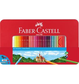 Faber-Castell - Classic Colour Buntstifte, 60er Metalletui