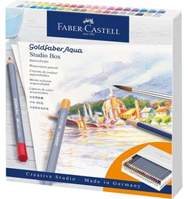 Faber-Castell - Goldfaber Aqua Aquarellstift, Studiobox