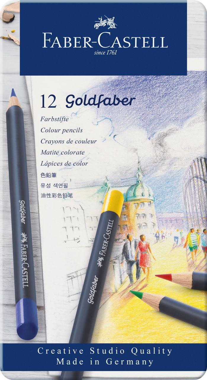 FABER-CASTELL Zeichenset GOLDFABER 8-teilig