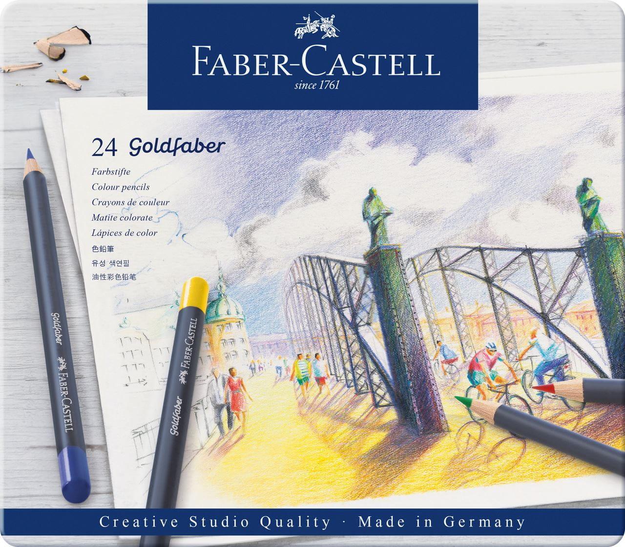 1 alter Stundenplan Faber Castell Goldfaber  70er Jahre  unbenutzt mit Stempel