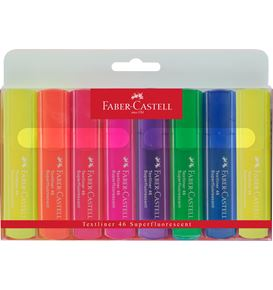Faber-Castell - Highlighter Textliner 46 Superfluorescent 8er Etui