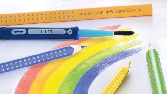 jumbo colour grip - Buntstift